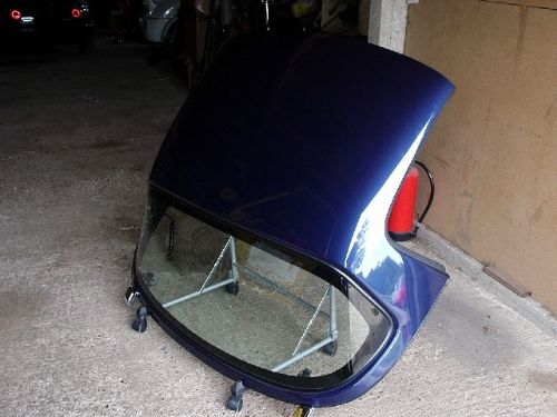 Hard top, without HRW (USED)